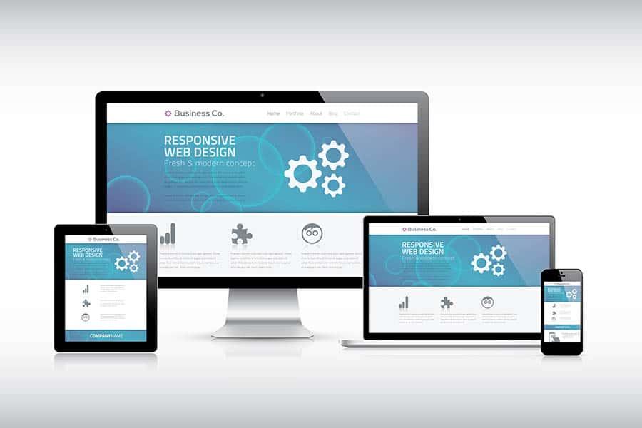 reszponzív, céges honlapkészítés, weboldalkészítés, céges weboldal készítés, WordPress honlap készítés