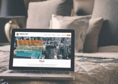 Perfekt Klíma – céges weboldal készítés